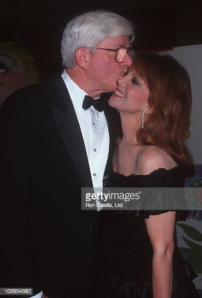 Phil Donahue and Marlo Thomas during St Jude Children's Hospital Gala July 25 1992 at Century Plaza Hotel in Century City California United States