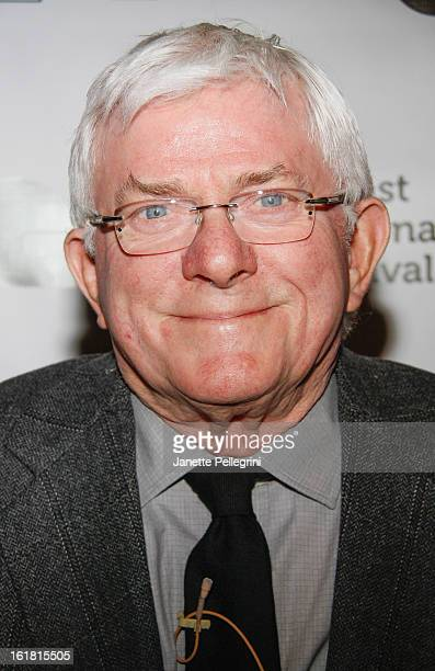 Phil Donahue attends Dennehy By Donahue New York Screening at Harbor Links Club and Grill on February 16 2013 in Port Washington New York