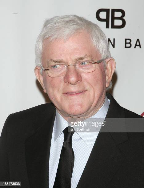 Phil Donahue attends the 2012 Drama League Of New York Musical Celebration Of Broadway Benefit at The Pierre Hotel on February 6 2012 in New York City