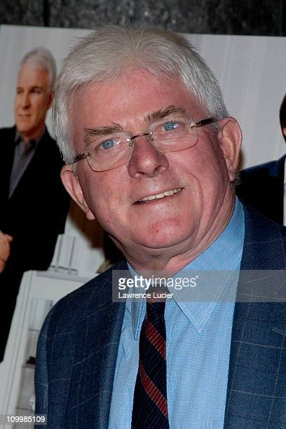 Phil Donahue during Shopgirl New York City Premiere Arrivals at Beekman Theater in New York City New York United States