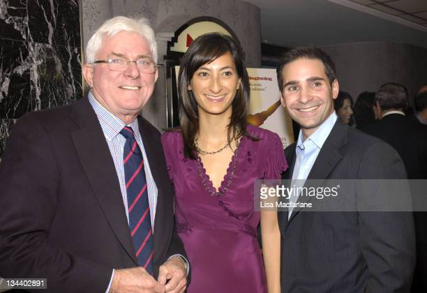 Phil Donahue Jessica Sanders director and Marc Simon producer