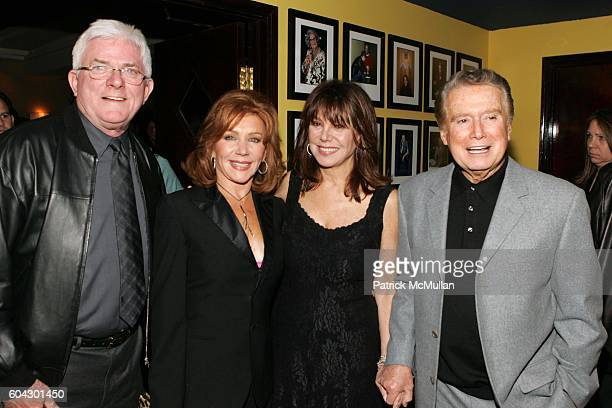 Phil Donahue Joy Philbin Marlo Thomas and Regis Philbin attend The Reader's Digest Annual Stand Up for the Children In Support of St Jude Children's...