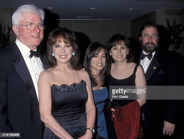 Phil Donahue Marlo Thomas Terre Thomas and husband attend 20th Anniversary of St Jude Children's Hospital Benefit Gala on March 2 2000 at the Beverly...