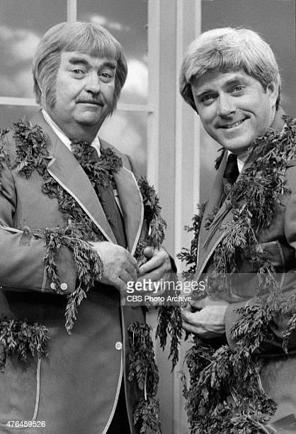 KANGAROO Phil Donahue right guests on Captain Kangaroo Shown here with Bob Keeshan Image dated January 16 1978