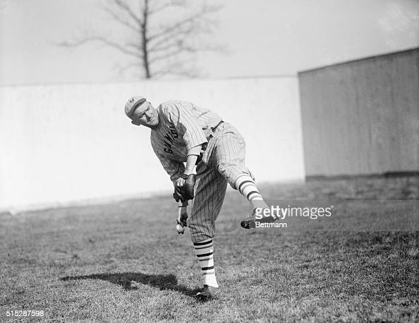 Phil Douglas the burly righthander who is rounding into form and promises well for an excellent season The NY Giants will need all the pitching...