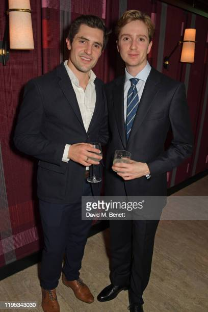 Phil Dunster and Luke Newberry attend the Vanity Fair EE Rising Star Award Party ahead of the 2020 EE BAFTAs at The Standard London on January 22...
