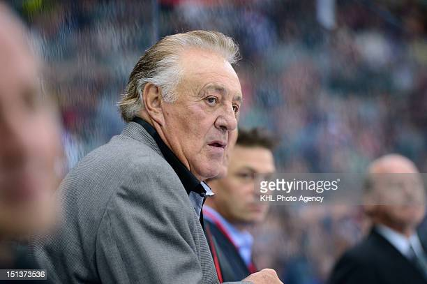 Phil Esposito during the friendly match between Canada Team and USSR Team during the 40th anniversary of Summit Series 1972 on September 5 2012 at...