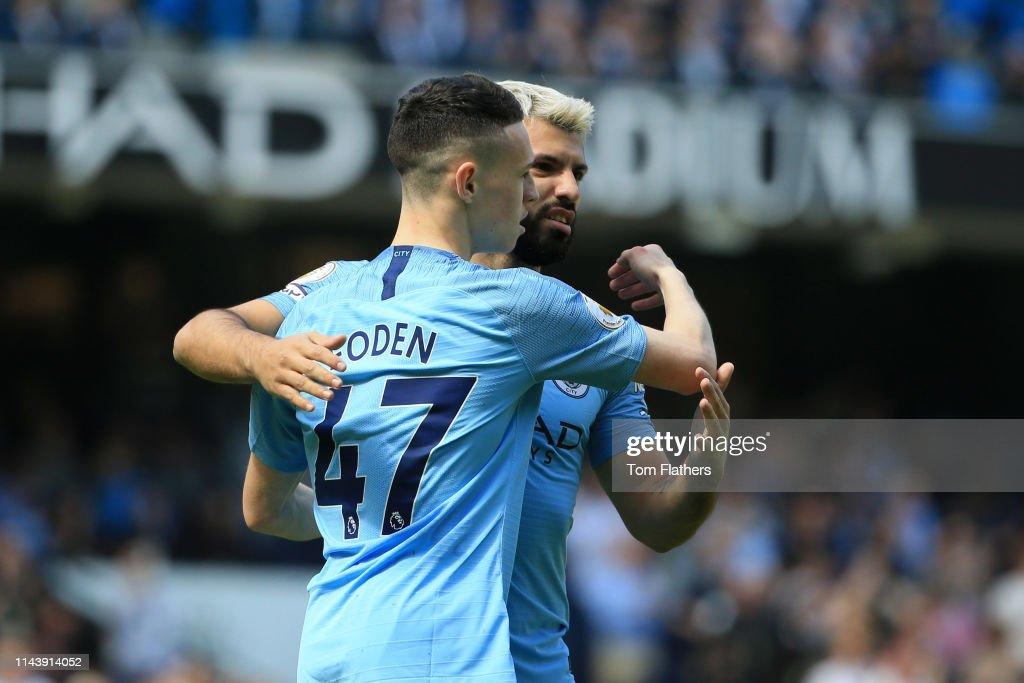 Manchester City v Tottenham Hotspur - Premier League : News Photo