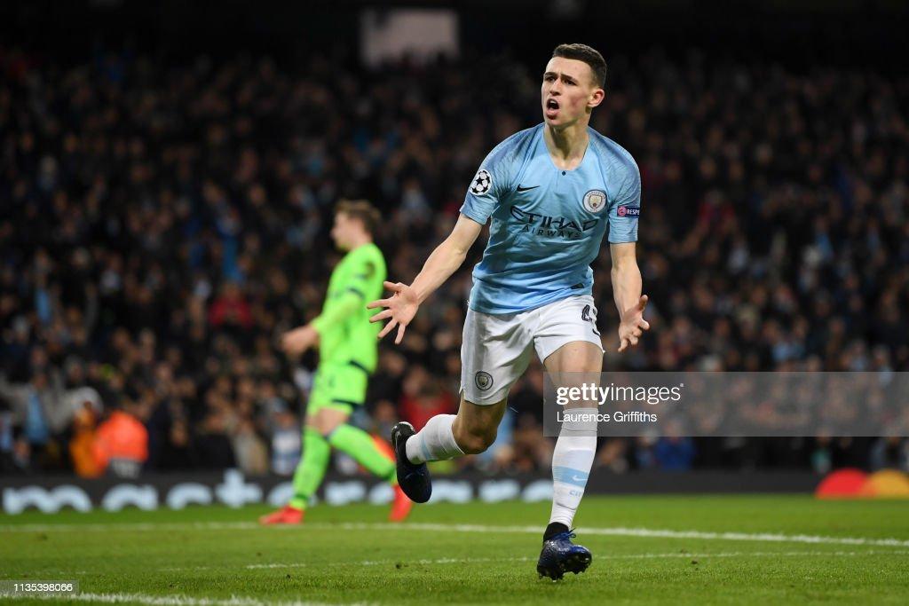 Manchester City v FC Schalke 04 - UEFA Champions League Round of 16: Second Leg : ニュース写真
