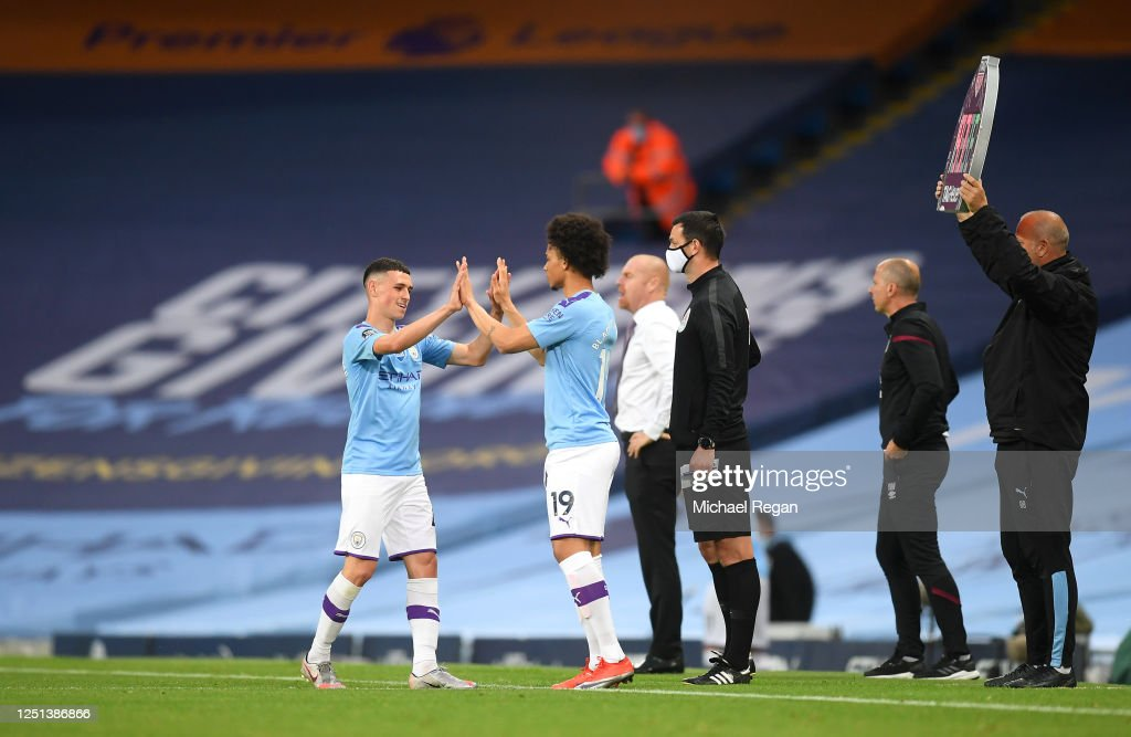 Manchester City v Burnley FC - Premier League : ニュース写真