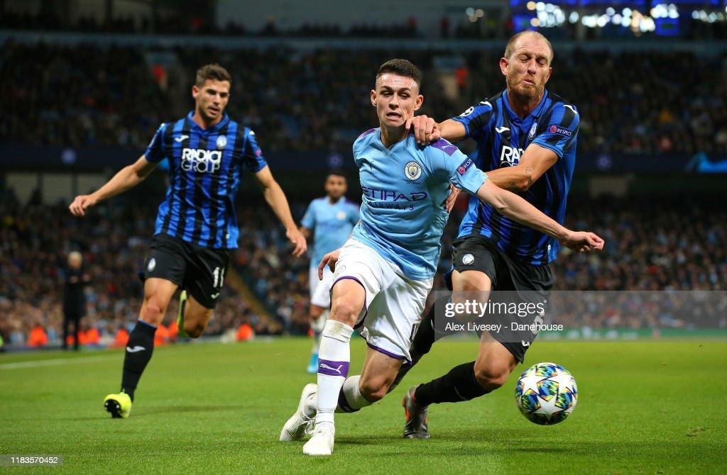Manchester City v Atalanta: Group C - UEFA Champions League : ニュース写真