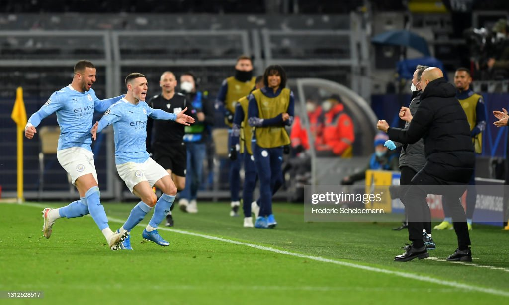Borussia Dortmund v Manchester City  - UEFA Champions League Quarter Final 1: Leg Two : ニュース写真