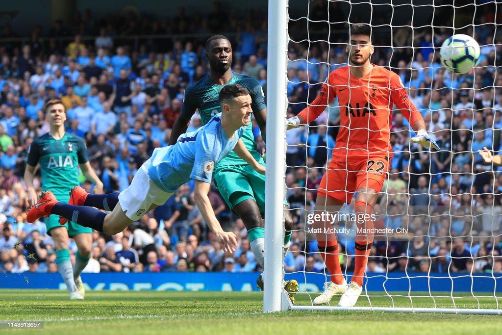 GBR: Manchester City v Tottenham Hotspur - Premier League