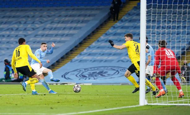 GBR: Manchester City v Borussia Dortmund  - UEFA Champions League Quarter Final: Leg One
