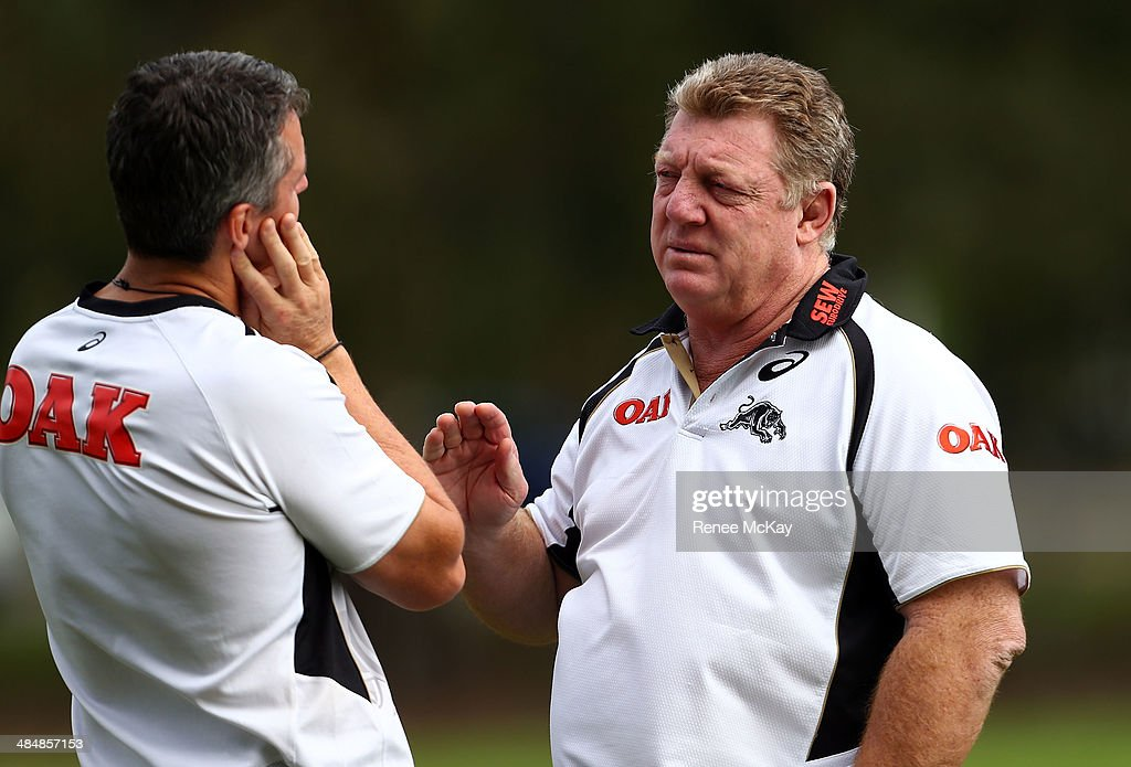 Penrith Panthers Training Session : News Photo