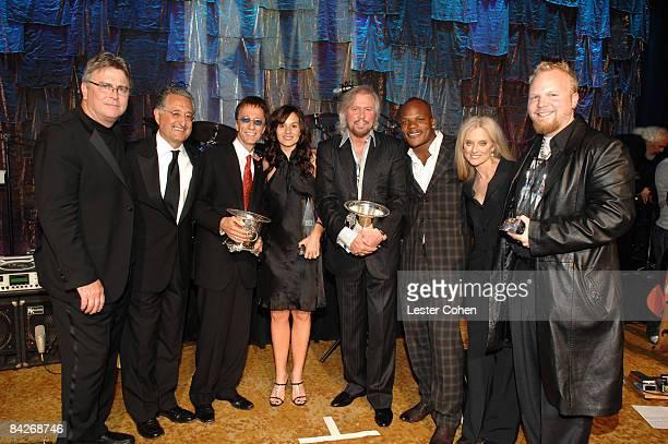 Phil Graham, Del Bryant, Robin Gibb, Kara DioGuardi, Barry Gibb, Sean Garrett, Barbara Cane and Ben Moody