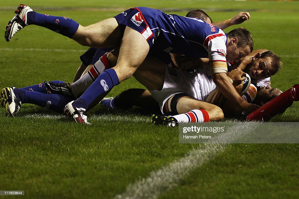 NRL Rd 5 - Warriors v Roosters