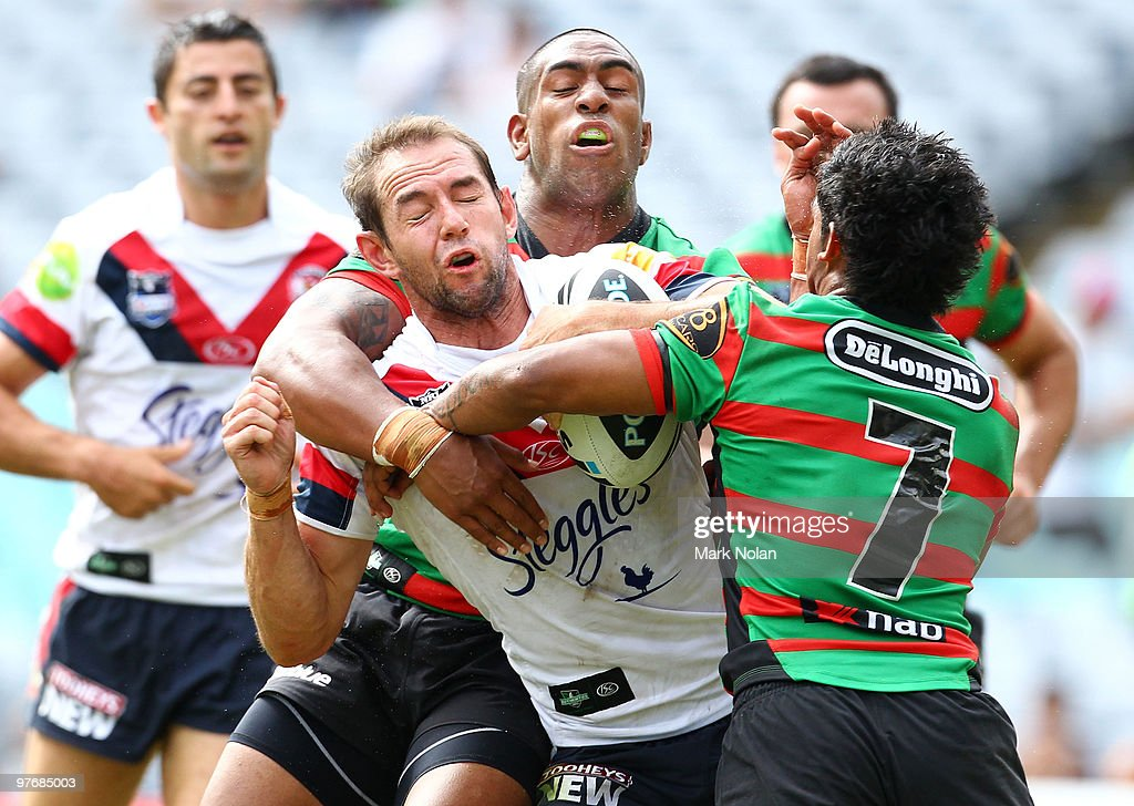 NRL Rd 1 - Rabbitohs v Roosters