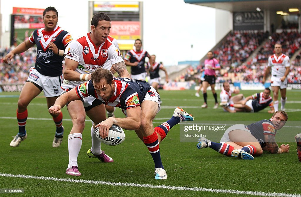 NRL Rd 23 - Dragons v Roosters