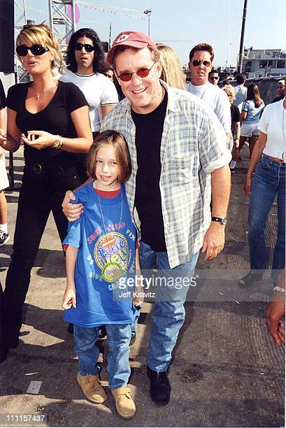 Phil Hartman and Birgen Hartman during Nickelodeon's 1997 The Big Help in Los Angeles California United States