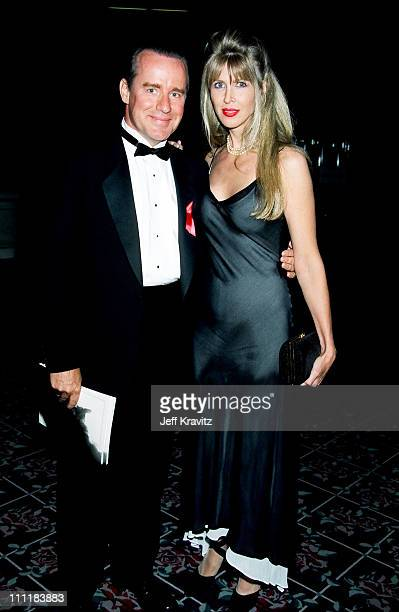 Phil Hartman and wife Brynn Hartman during 1994 Emmy Awards in Los Angeles CA