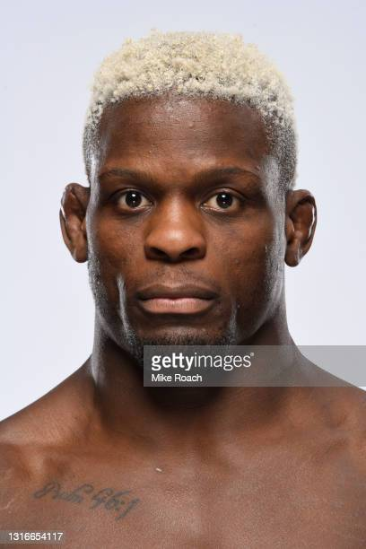 Phil Hawes poses for a portrait during a UFC photo session on May 5, 2021 in Las Vegas, Nevada.
