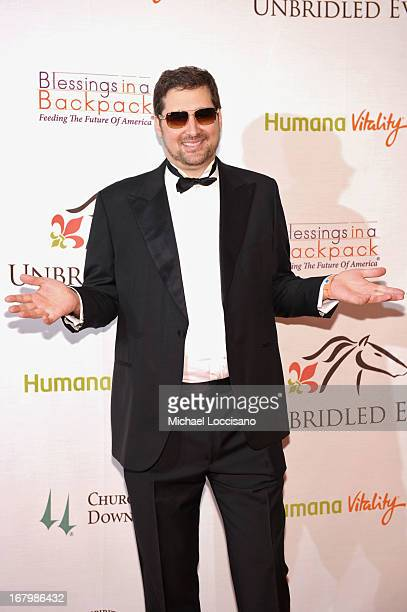 Phil Hellmuth attends the Unbridled Eve Gala for the 139th Kentucky Derby at The Galt House Hotel Suites' Grand Ballroom on May 3 2013 in Louisville...