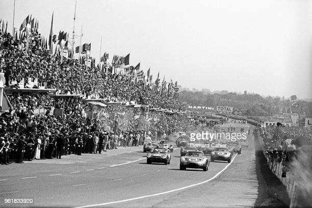 Phil Hill Aston Martin DP215 24 Hours of Le Mans Le Mans 16 June 1963