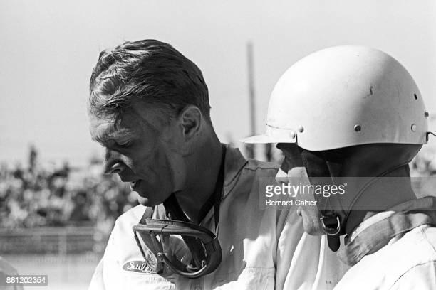 Phil Hill Dan Gurney 12 Hours of Sebring Watkins Glen International 06 October 1963 Dan Gurney and Phil Hill during the 1963 12 Hours of Sebring
