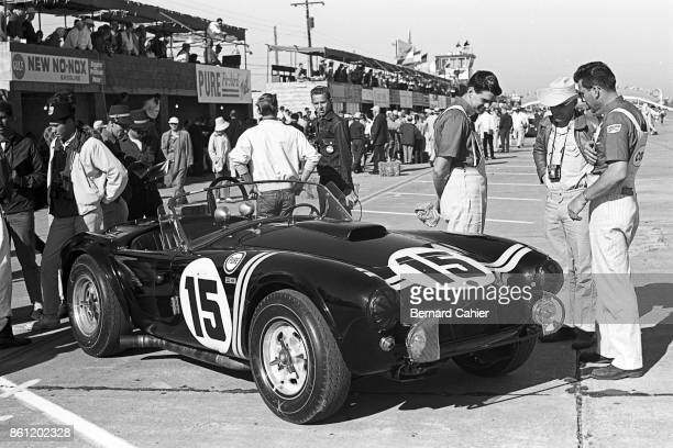 Phil Hill Dan Gurney Shelby Cobra 12 Hours of Sebring Watkins Glen International 06 October 1963 The Shelby Cobra driven by Phil Hill and Dan Gurney...