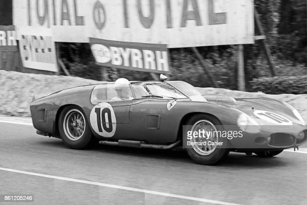 Phil Hill Ferrari 250 Testa Rossa 61 24 Hours of Le Mans Le Mans 06 November 1961