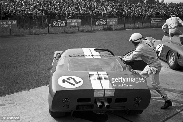 Phil Hill, Ford GT40, 1000 Km of Nürburgring, Nurburgring, 23 May 1965.
