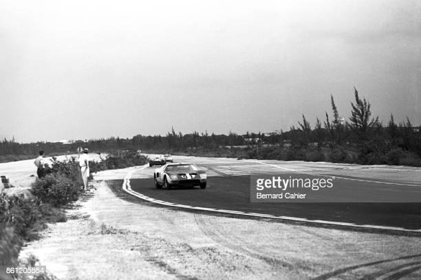 Phil Hill Ford GT40 Nassau Speed Week Nassau Bahamas 29 November 1964