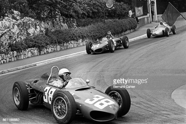 Phil Hill, Richie Ginther, Jo Bonnier, Ferrari 156 Sharknose, Porsche 787, Grand Prix of Monaco, Circuit de Monaco, 14 May 1961.