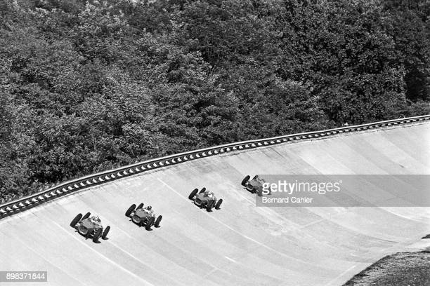 Phil Hill Richie Ginther Ricardo Rodriguez Giancarlo Baghetti Ferrari 156 Grand Prix of Italy Autodromo Nazionale Monza 10 September 1961 Phil Hill...