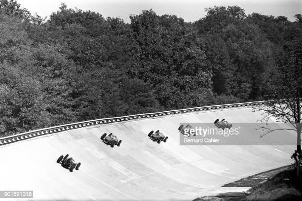 Phil Hill Richie Ginther Ricardo Rodriguez Giancarlo Baghetti Jack Brabham Ferrari 156 Grand Prix of Italy Autodromo Nazionale Monza 10 September...