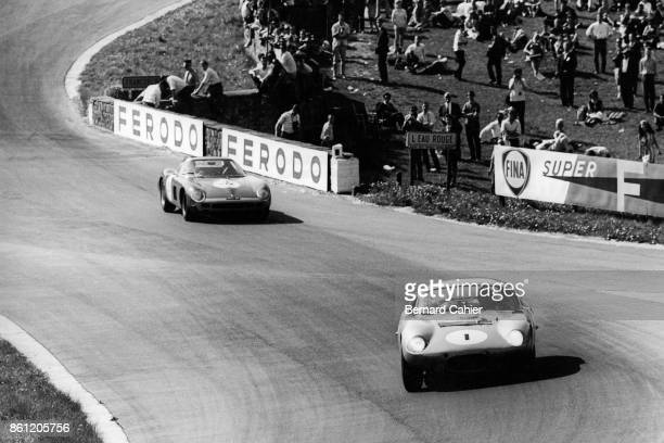 Phil Hill, Shelby Cobra Daytona Coupe, Spa-Francorchamps 500 Km, Spa-Francorchamps, 17 May 1964.
