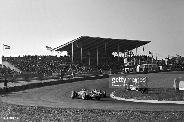 Phil Hill Trevor Taylor Ferrari 156 Sharknose LotusClimax 24 Grand Prix of the Netherlands Circuit Park Zandvoort 20 May 1962