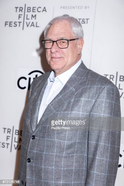 Phil Jackson attends the 2017 Tribeca Film Festival's Tribeca Talks: Storytellers: Kobe Bryant with Glen Keane at BMCC Tribeca PAC.