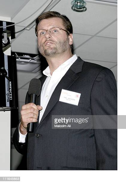 Phil Jackson during Scene It Hollywood Challenge at Hollywood History Museum in Hollywood California United States