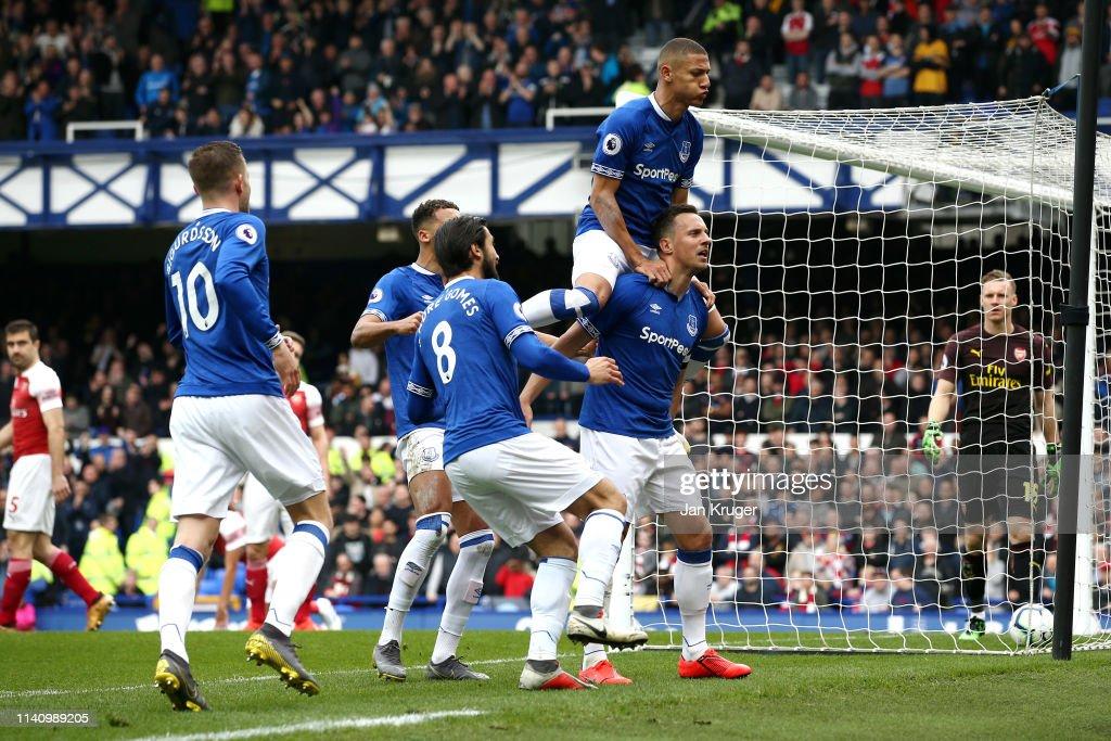 GBR: Everton FC v Arsenal FC - Premier League
