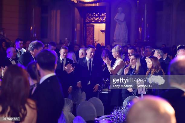 Phil Jagielkaof Everton during the Everton in the Community Gala Dinner at St George's Hall on February 13 2018 in Liverpool England