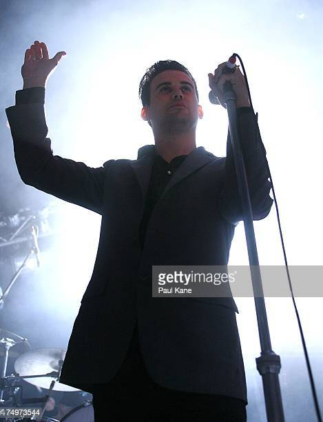 Phil Jamieson of fourpiece band Grinspoon perform on stage in concert to promote their latest album ''Alibis And Other Lies' at the Metropolis...