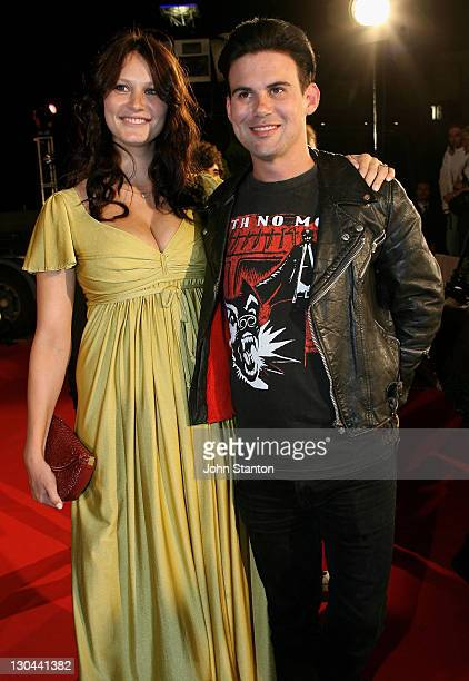 Phil Jamieson of Grinspoon and guest during MTV Australia Video Music Awards 2007 Arrivals at Superdome in Sydney NSW Australia