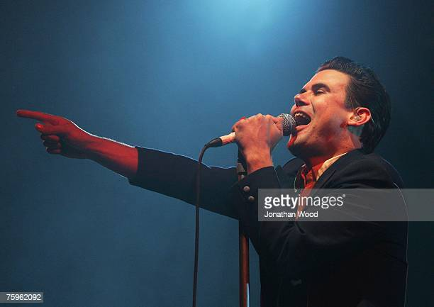 Phil Jamieson of Grinspoon performs live on stage at the Splendour in the Grass Festival at Belongil Fields on August 4 2007 in Byron Bay Australia