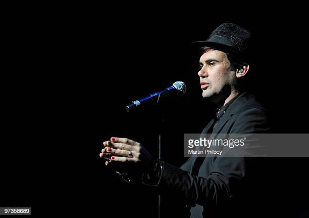 Phil Jamieson of Grinspoon performs the Beatles White Album at Hamer Hall on 1st August 2009 in Melbourne Australia