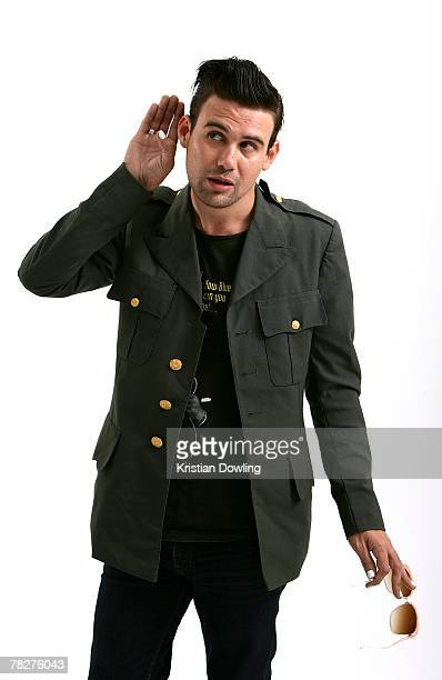 Phil Jamieson of Grinspoon poses during a portrait session on May 31 2007 in Sydney Australia