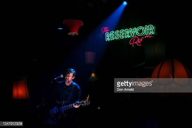 Phil Jamieson performs during live recording on June 06 2020 in Sydney Australia The Reservoir Room is livestream performances of theatre live music...
