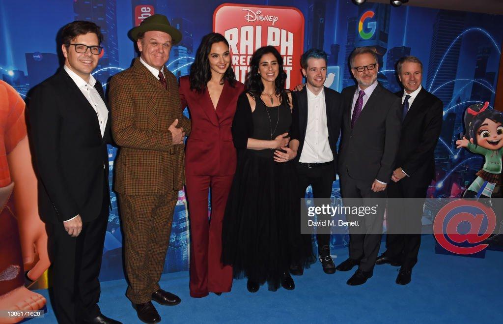 """Ralph Breaks The Internet"" European Premiere - VIP Arrivals : News Photo"
