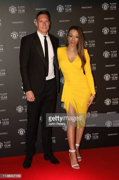 Phil Jones of Manchester United arrives at the club's annual Player of the Year awards at Old Trafford on May 09, 2019 in Manchester, England.
